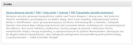 wp-Typography: Źródła
